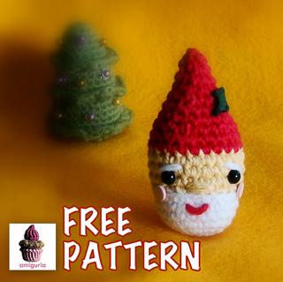 More Free Santa Crochet Patterns! - AmVaBe Crochet   319x320