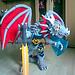 Dragon Trilogie - The Fighter of Armageddon pattern