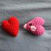 Heart/Luvdisc pattern