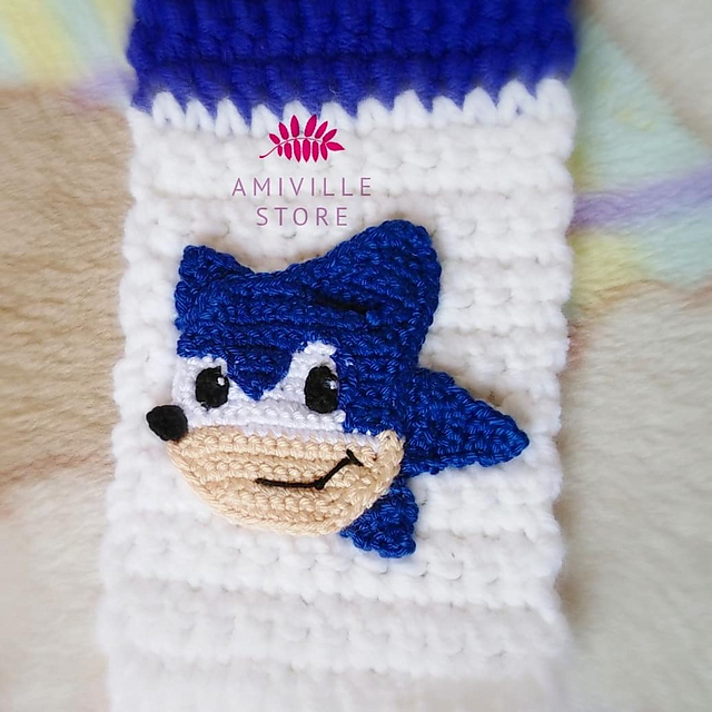 Ravelry Sonic Applique Pattern By Sarah Hafez