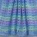 Striped Lace Crochet Baby Blanket pattern