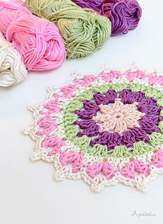 Mini Crochet Mandala