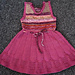 Pink Lacy Spring Dress pattern