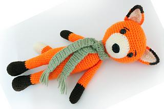 Ravelry: Fox Amigurumi pattern by Pletionica | 213x320