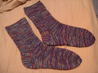 My first socks - complete!