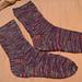 6 Stitches per Inch Sock pattern