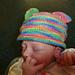 0-6 months 4ply Teddy Bear Hat pattern
