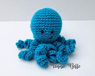 How To Crochet a Mini Amigurumi Octopus - DIY Crafts Tutorial ... | 256x320
