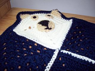 couverture ourson close up