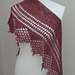 Mythos shawl pattern