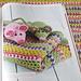 Avril (couverture et doudou souris) pattern