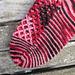 Waffled Footsies pattern