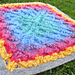 Rainbow Throw pattern