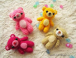 Crochet Mini Bear | 247x320