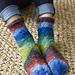 Tilt-A-Whirl Socks pattern