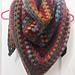 Quick & Simple Granny Shawl pattern