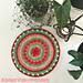 Rosebud Mandala pattern