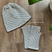 Autumn Walk fingerless mittens pattern