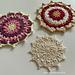 Aster mandala pattern