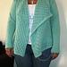 Spring Sunshine Lace Waterfall Jacket pattern