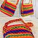 Textured Diamonds Bag pattern