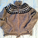Lettlopi Cardigan with Short Pattern and Hood pattern