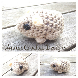 FREE Amigurumi Hamster Crochet Pattern and Tutorial | Kawaii crochet, Crochet  amigurumi, Cute crochet | 320x320