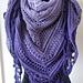 Lavender Fields Shawl pattern
