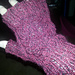 Delicate Leaf Mitts pattern