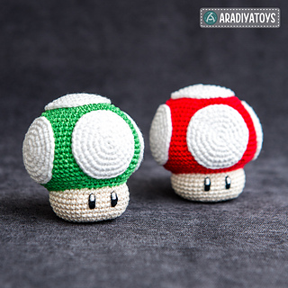 Crochet Mario and Luigi Pattern Free | 320x320