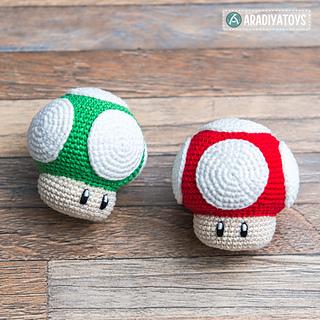 Little Mushroom - Free amigurumi pattern   320x320