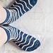 Crusty Wave Socks pattern