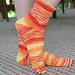 Toe-to-Top Crew Socks pattern