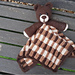 Barry The Bear Baby Lovey Security Blanket pattern