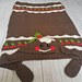2in1 Christmas Pudding Hooded Blanket pattern