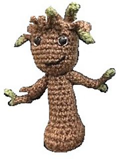 Baby Groot en macetero amigurumi (crochet) / Tejiendo Perú - YouTube | 320x277