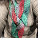 Quick and Easy Christmas Scarf pattern