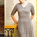 Simple lace dress pattern