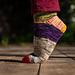 Chaussettes Guacamole Socks pattern