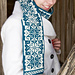 Let It Snow Scarf pattern
