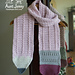 The Sharpened Pencil Scarf pattern