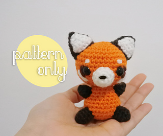 Jojo, the Red Panda amigurumi pattern - Amigurumipatterns.net | 266x320
