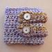 Double Strap Cuff Bracelet pattern