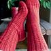 Blueberry Waffle Socks pattern