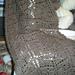 Diamond Leaf Scarf pattern