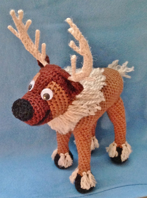 Amigurumi Christmas Reindeer Free Crochet Pattern | Holiday ... | 640x476