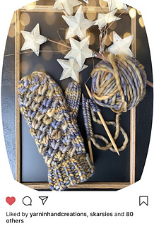 Knitted in Malabrigo Rasta by @fishnhookco