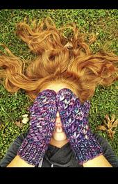 Knitted in Malabrigo Rasta by @rosieposiedesignco