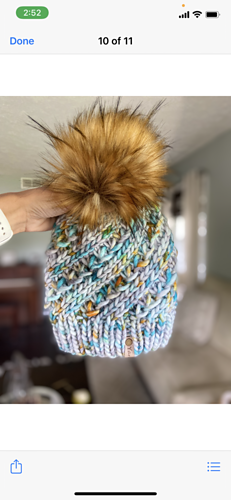 Knitted in Baah Sequoia by @yarn_it_all_