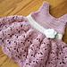 Baby Girl Shell Sundress pattern